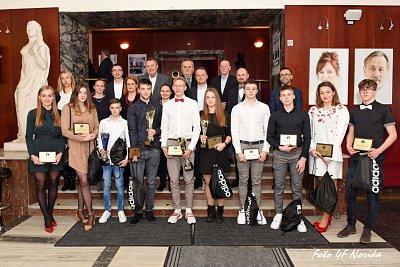 Športovec roka 2019 Strednej športovej školy Jozefa Herdu v Trnave 65