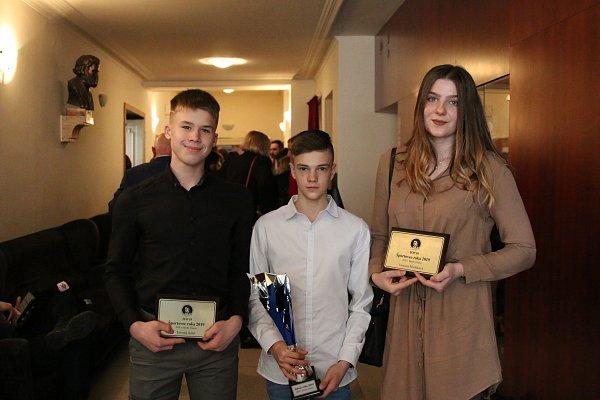 Športovec roka 2019 Strednej športovej školy Jozefa Herdu v Trnave